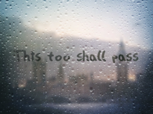 This too shall pass small