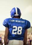 Football Player I am Worthy